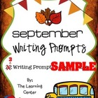September Writing SAMPLE
