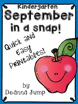 September in a Snap: Monthly Printables