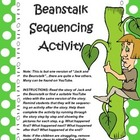 Sequencing Activity Jack and the Beanstalk