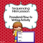 Sequencing Mini-Lesson & Practice