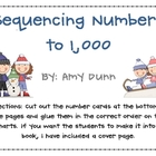 Sequencing/Counting Numbers to 1,000 *Winter Version* {Com