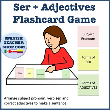 Ser Adjectives Flashcards