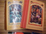 Set of 2 Books: #10 and #12 of the Series of Unfortunate Events