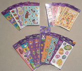 Set of Easter Stickers