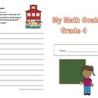 Setting Goals in Math: Student Booklet grade 4