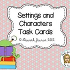 Settings and Characters Activity Cards