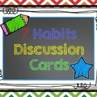 Seven Habits Discussion Cards