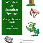 Seven Wonders of Sassafras Springs Reading Activities Supe