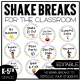 Shake Breaks for the Classroom