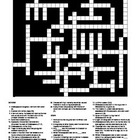 Shakespeare Biography - Crossword Puzzle
