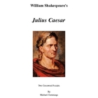 Shakespeare: Julius Caesar Crossword Puzzles