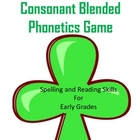 Shamrock Blended Consonant Phonetics Game