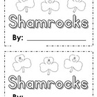 Shamrock St Patricks Day Rhyming Writing Center and Book