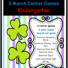 Shamrocks and Leprechauns Common Core Centers March Bundle