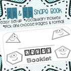 Shape Booklet 2D & 3D
