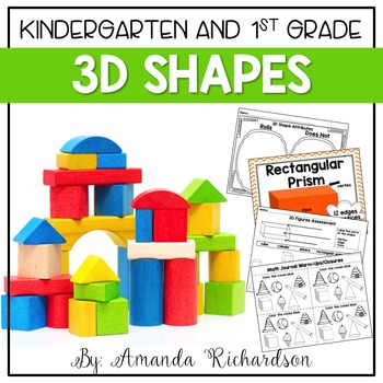 'Shape' It Up! {a unit teaching 3D figures and their attributes}