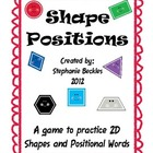 Shape Positions Game