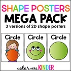 SHAPES Poster Pack for the Chevron Chic Classroom