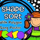 Shape Sort & Polygon Song