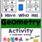 Shape Up! (Geometry Worksheet)