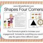 Shapes Four Corners Cooperative Learning Kagan Structure