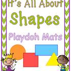 Shapes Playdoh Mats