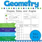 Geometry for 3rd Grade Common Core 3.G.A.1 and 3.G.A.2
