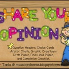 Share Your Opinion! (Opinion Writing)