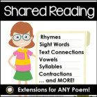Shared Reading: Questions to Use with Any Chart Poem