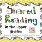 Shared Reading in the Upper Grades 5-Day Plan