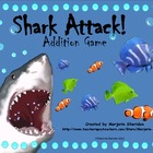 Shark Attack! Addition by Counting On Game