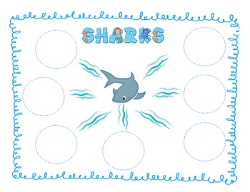 Sharks Graphical Organizers