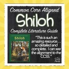 Shiloh Literature Guide Common Core Aligned Lessons, Print