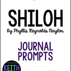 Shiloh by Phyllis Reynolds Naylor: 15 Journal Prompts