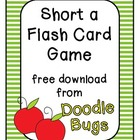 Short A Flash Card Game { Free Download }