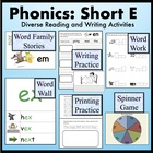 Short E Word Families: Phonics and Writing Fundamentals