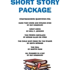 Short Story Package: Comprehension Questions for selection