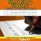 Short Story Starters Task Cards (Aligned with the CCSS for