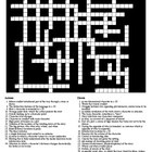 Short Story Terms Crossword and Word Search with KEYS
