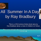 Short Story Unit-All Summer In A Day,by Ray Bradbury