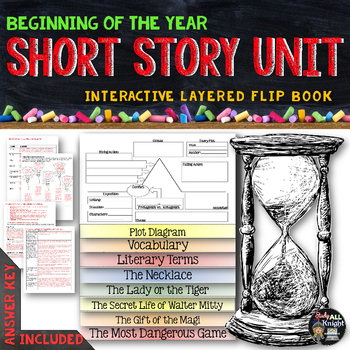 Short Story Unit Literature Guide Flip Book By Danielle Knight Tpt
