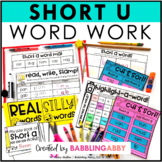 Short U Word Work Activities