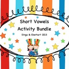 Short Vowel Bundle Activity Packet -- (Games, Sight Word C
