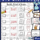 Short Vowel CVC Printables and Centers (40 pgs) Whimsy Wor