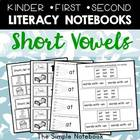 Literacy Journals: Short Vowel Printables