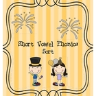 Short Vowel Sort Game/ Center