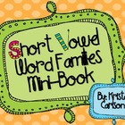 Short Vowel Word Families Mini-Book
