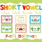Short Vowel Word Work {Bundle Set}