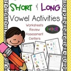 Short Vowel and Long Vowel {activities}