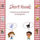 Short Vowels Worksheets and Posters